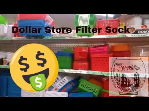 Dollar Store Aquatics - Filter Sock