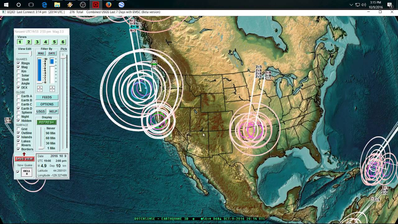 10092016 new west coast earthquake swarm 3 day warning was 10092016 new west coast earthquake swarm 3 day warning was given forecast direct hit youtube gumiabroncs Image collections