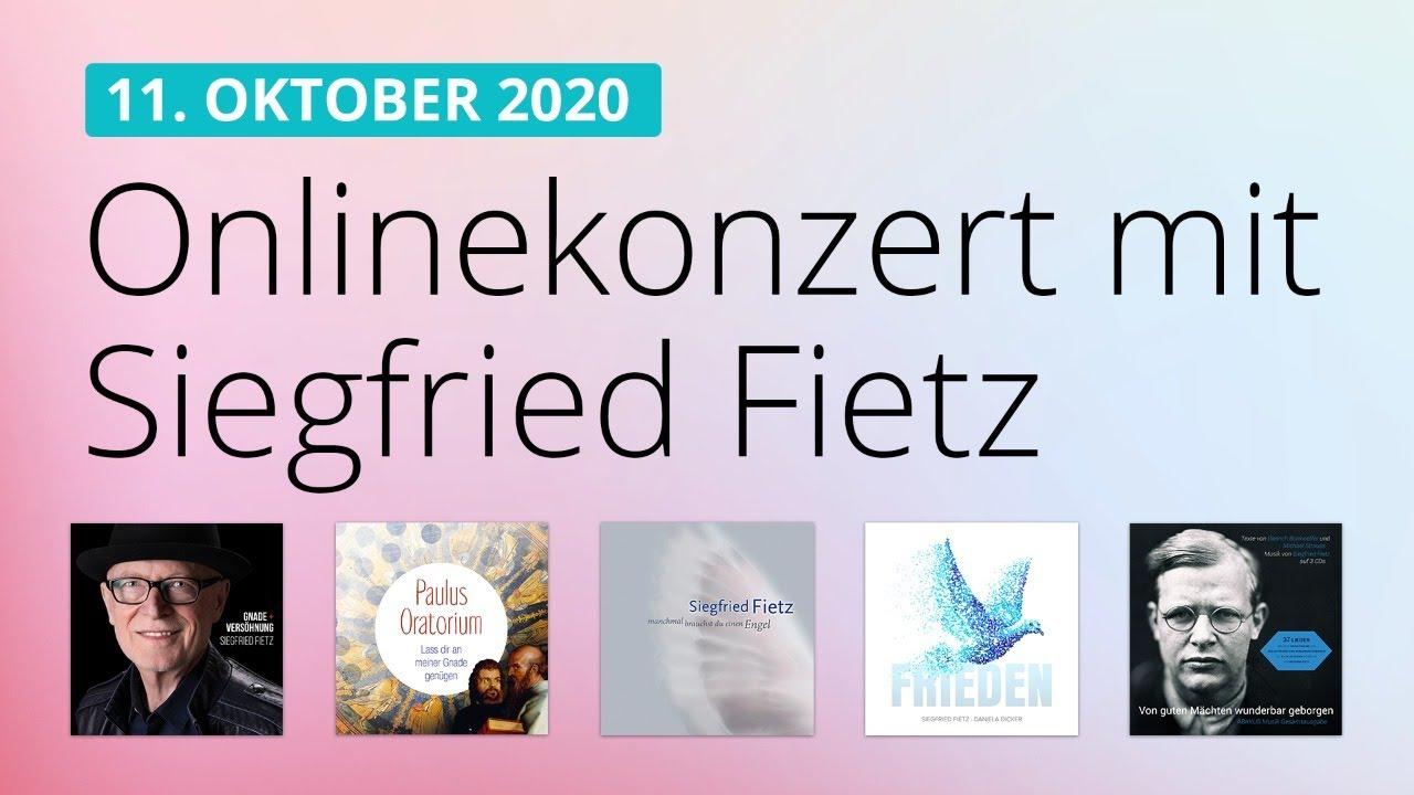 Onlinekonzert am 11.10.2020