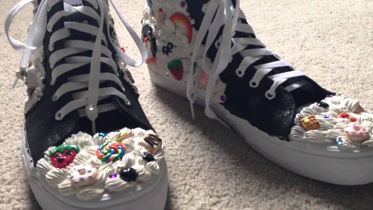 Custom Decorated Shoes (Vans Custom Culture) Decoden
