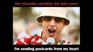 James Blunt - Postcards - English and Italian Lyrics