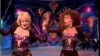 Galyn Görg, Lorella Cuccarini, Manuel Franjo and Steve LaChance Dance Cannon Ball!!!