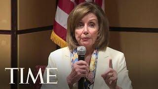 Nancy Pelosi Slams President Trump's Threatened Deportations | TIME