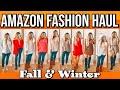 amazon try-on haul fall/winter 2019: comfy basics & holiday fashion!!