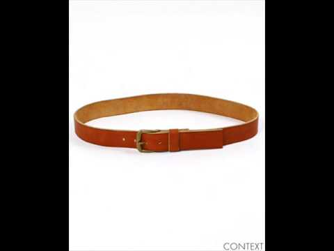 4 stam leather belt