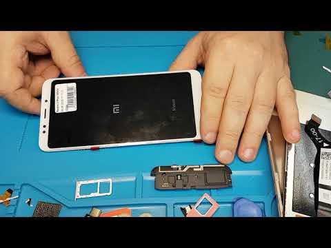 Xiaomi Redmi 5 PLUS - разборка, замена дисплея