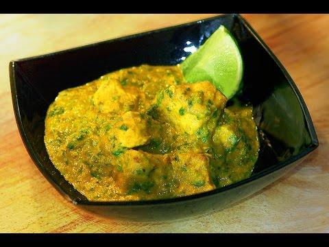 REAL Chicken Saag  / Punjabi Indian Curry Recipe (murgh, gosht)