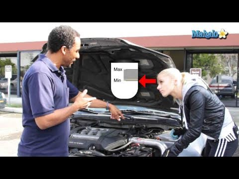 How To Check Your Brake Fluid Level Youtube