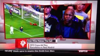 Mike Tyson calls Cristiano Ronaldo