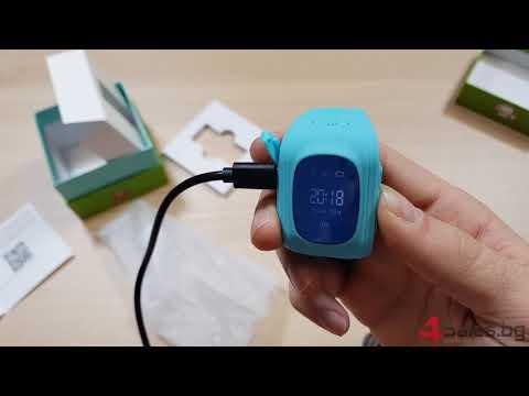GPS часовник -телефон за деца - тракер за проследяване smart watch q50 27