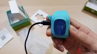 Дитячі годинники GPS стеження - Q50 Smart Baby Watch з - 4Sales.ru