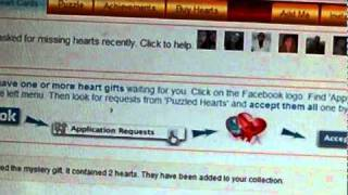 Puzzled Hearts the FaceBook app (How to play) BY TIMzPoet