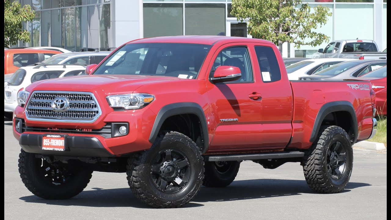 2017 toyota tacoma trd off road specs best new cars for 2018. Black Bedroom Furniture Sets. Home Design Ideas