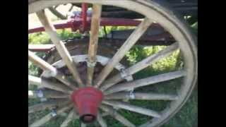 Sears 2 Cylinder Air Cooled Wagon Wheels  8 9 14