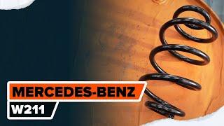 Instalación Kit de Reparación de la Rótula de la Suspensión usted mismo videos instruccion en MERCEDES-BENZ E-CLASS