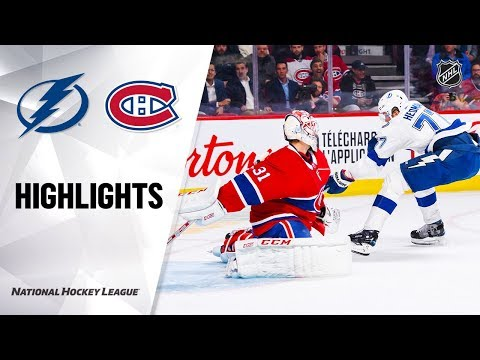 Ronnie And TKras - Tampa Bay Lightning: Bolts Strike In Montreal, With Messy Win