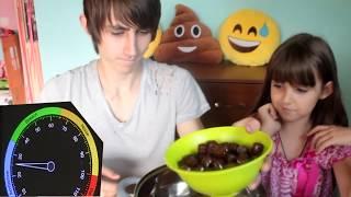 Бесшумный Челлендж Рома и Лиза пытаются не шуметь Новый челенж Noise Challenge   \ LizaTube