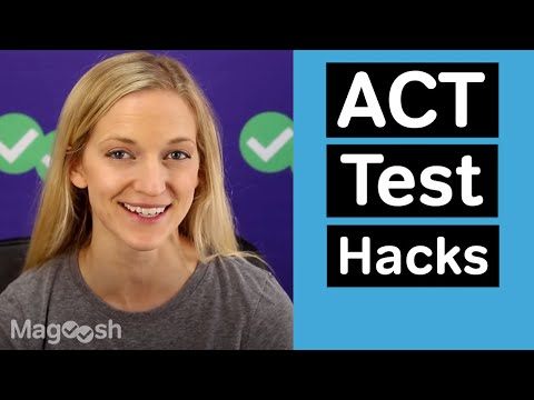 Tuesday ACT: 4 ACT Test Hacks You Can