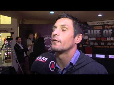 COREY McCONNELL TALKS LEE SELBY FOR iFILM LONDON / SELBY v McCONNELL PRESS CONFERENCE
