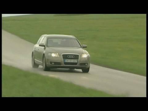 Audi a6 avant 2 4 audis kombi mit v6 benziner im for Audi a6 breite mit spiegel