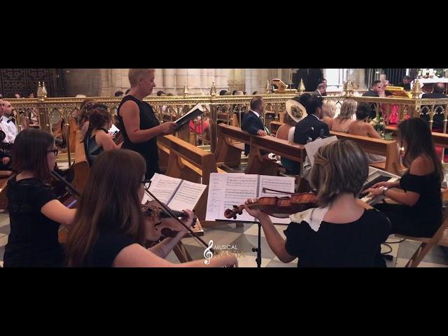 🎼 Soprano y Orquestsa | Musica en Vivo para Bodas | Musical Mastia