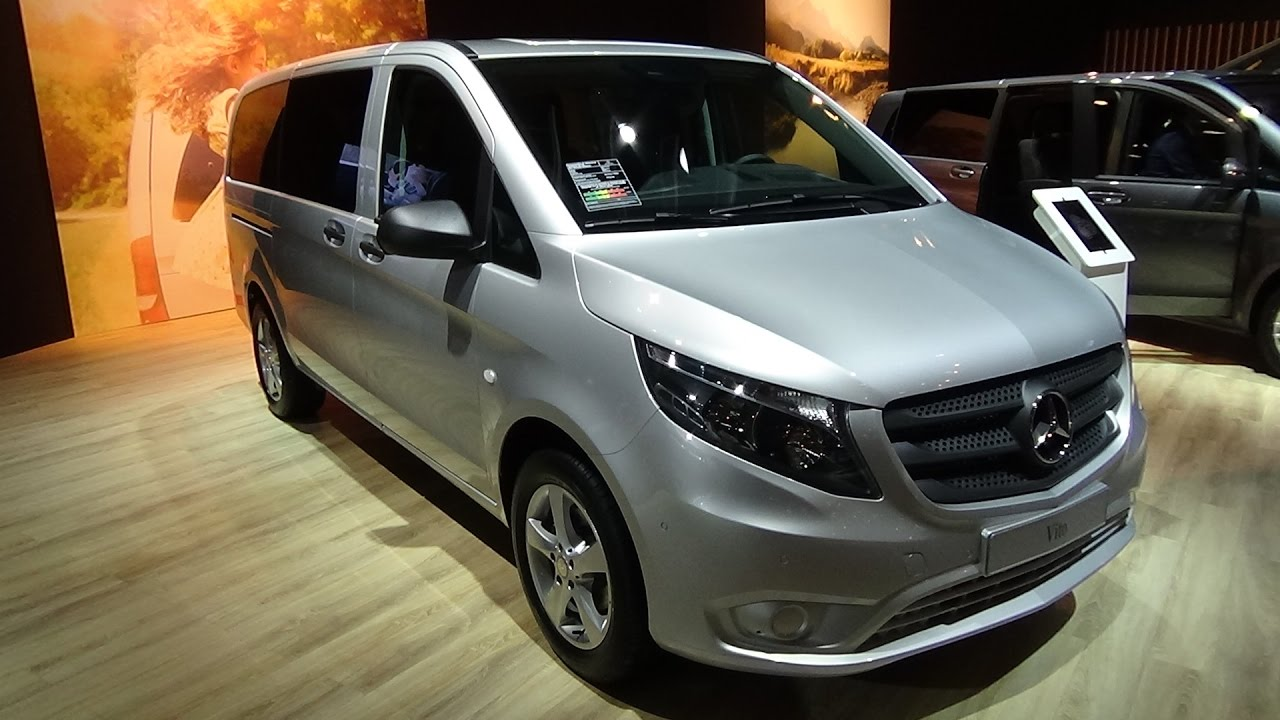 2017 mercedes benz vito tourer select exterior and interior auto show brussels 2017 youtube