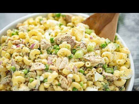 How To Make Tuna Macaroni Salad