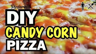 DIY Fried Candy Corn Pizza Shot Glasses? - Man Vs Din