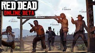 Red Dead Online - 18 NEW LEAKS! BREAKING Red Dead Online Beta News & Info (RDR2 Multiplayer Details)