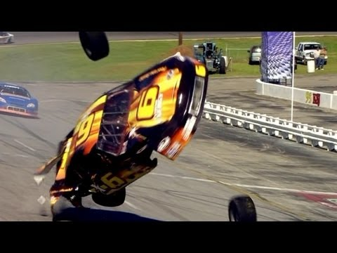 Amazing Race Car Crash!