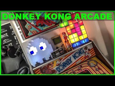 Donkey Kong Arcade Poster & Automat - Flying Uwe