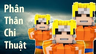 Minecraft NARUTO Tập 1 - Phân Thân Chi Thuật   POBBrose ✔