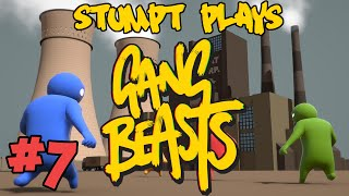stumpt plays gang beasts 7 in the vents 4 player gameplay