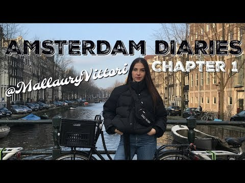 🇳🇱 Amsterdam Diaries #1 : Jan./Feb. 2018 || @MallauryVittori