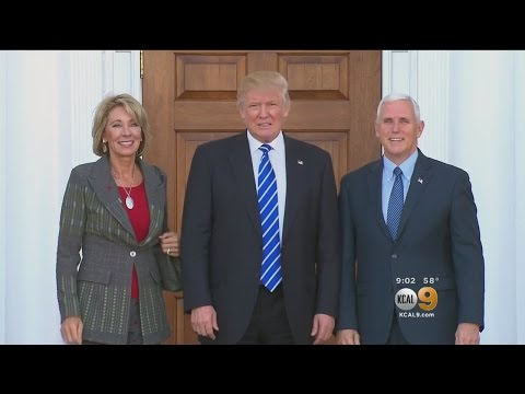 Democrats Take Stand On Trump Pick For Secretary Of Education