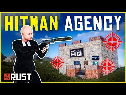 Building a HITMAN SHOP for RUST PLAYERS - Rust Shop Roleplay (Part 1/2)