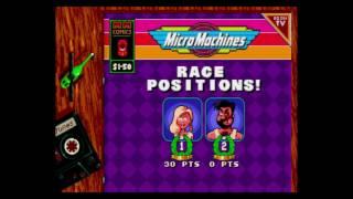 MicroMachines. Memori vs Mandy Dee