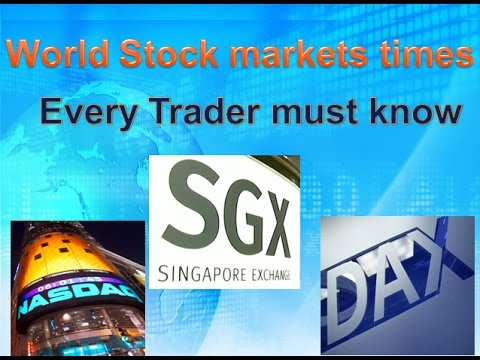 World Stock markets times Every Trader must know