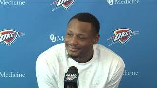 Thunder Exit Interviews: Deonte Burton