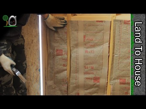 Insulation and Paneling - Build a Workshop #24