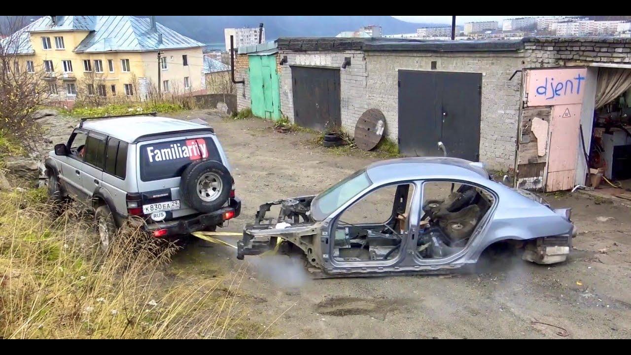 Удастся ли воткнуть мотор на BMW после нашей сварки. Решала 13.