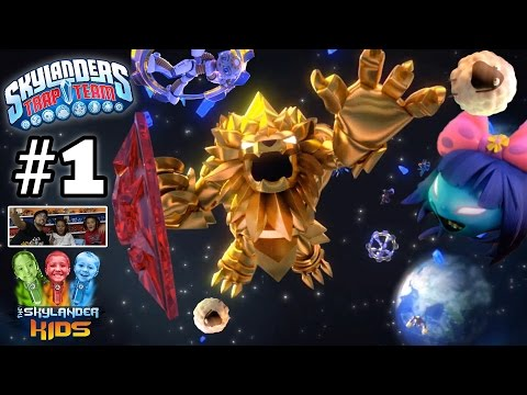 Lets Play Skylanders Trap Team: Chapter 1 - Soda Springs w/ Gulper & Sheep Creep (Face Cam Gameplay)
