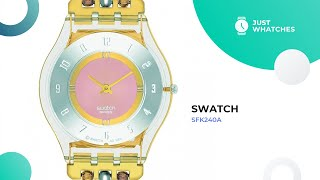 Unique Swatch SFK240A Women's Watches 360°, Full Specs, Prices
