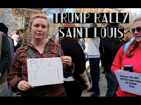 TRUMP PROTEST // saint louis