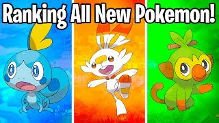 RANKING ALL SWORD AND SHIELD POKEMON FROM WORST TO BEST!