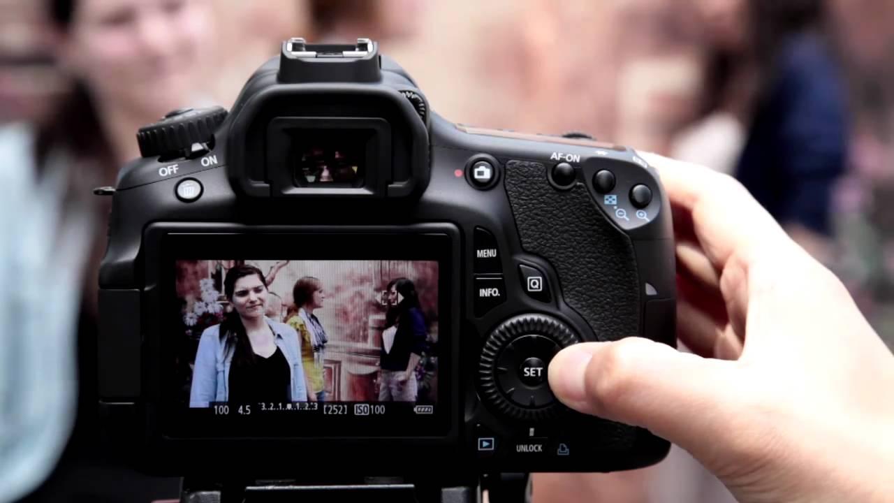 Canon EOS 60D Tutorial - Movie Mode 7/14