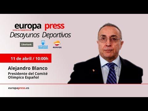 Desayuno Deportivo Europa Press con el presidente del COE, Alejandro Blanco