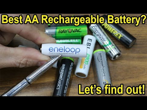 which-aa-rechargeable-battery-is-best-after-1-year?-let's-find-out!-eneloop,-duracell,-amazon,-ebl