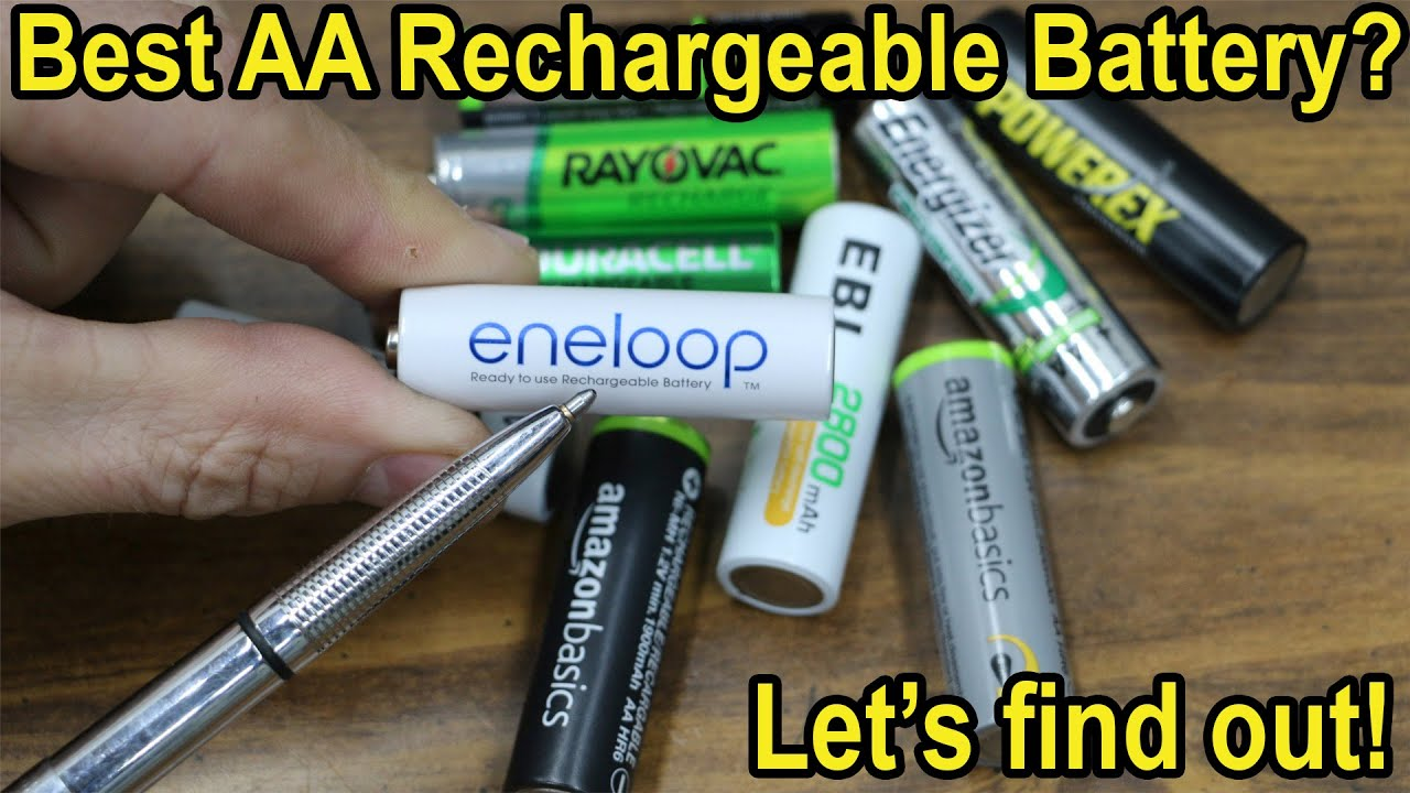 Which AA Rechargeable Battery is Best after 1 Year?