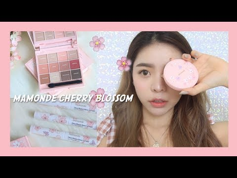MAMONDE CHERRY BLOSSOM COLLECTION 🌸 REVIEW | Erna Limdaugh